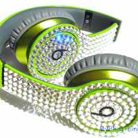 I'll Bling your Solo HD Beats by Dre with Super Sparkly Crystal Rhinestones  ** made with Swarovski Elements