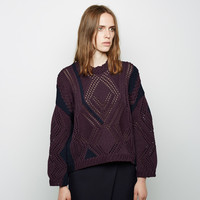 Pointelle Cable Intarsia Knit by 3.1 Phillip Lim