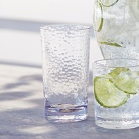 Hammered-Acrylic Highball Glasses, Set of 4 | Sur La Table