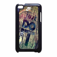 Nike Just Do It Wood iPod Touch 4th Generation Case