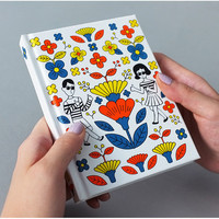 Oohlala Tabom retro hardcover lined notebook ver.2