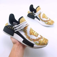 Versace /Adidas PW HU Holi NMD MC Fashion casual shoes