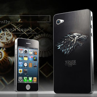 Wolf iPhone 4s Decal iphone 4 Stickers iPhone 5 Decals Apple Decal for Macbook Pro / Macbook Air  / iPhone 4