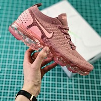 Nike Air Vapormax Flyknit 2.0 W Pink Women's Sport Running Shoes - Best Online Sale