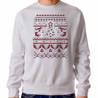 An Ugly Pokemon Christmas 3460 Sweater Man and Sweater Woman
