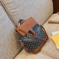 Fashion Goyard Louis Vuitton Women Leather monnogam Handbag Crossbody bags Shouldbag Bumbag