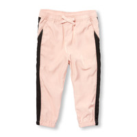 Toddler Girls Satin Jogger Pants | The Children's Place