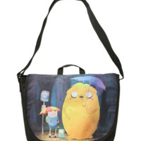 Adventure Time In The Rain Messenger Bag