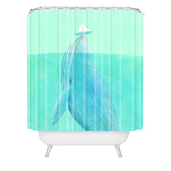 Eric Fan Lift Shower Curtain