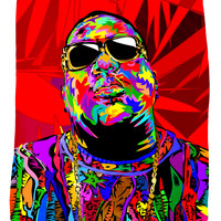 Biggie Shades Fleece Blanket