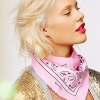 Free People Classic Frayed Bandana