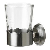 LILLHOLMEN Toothbrush cup with holder   - IKEA