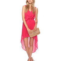 High-Low Ruffle Dress   FOREVER21 - 2000035139