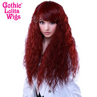 Gothic Lolita Wigs®  Rhapsody™ Collection - Burgundy -00102