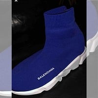 Balenciaga hot-selling socks and shoes fashion men and women socks and boots shoes