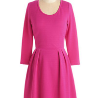 ModCloth Short Length 3 A-line Bright from the Beginning Dress