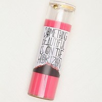 Free People Womens Thoughtful Glass Cylinder Candle