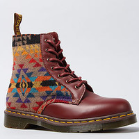 The Pendleton X Dr. Martens Boot in Cherry Red