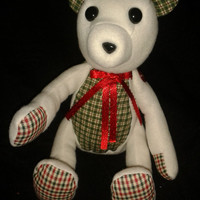"Limited Edition Christmas 2012 Button Bear """"""SALE - NOW 10% OFF"""""""