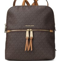 Michael Kors Women's Medium Rhea Signature Leather Backpack