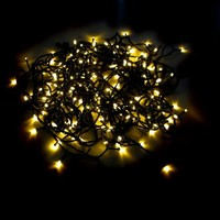 192 LED Outdoor / Indoor Battery String Lights with Auto Timer and 8 Functions - 60 Day Batteries: By LampLust