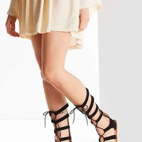 Tall Suede Gladiator Sandal