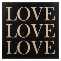 Love Love Love | Canvas | Art by Type | Art | Z Gallerie