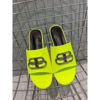 Balenciaga Popular Summer Women's Flats Men Slipper Sandals Shoes