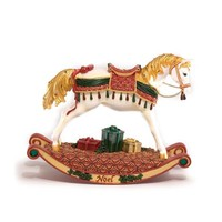 Trail of Painted Ponies Noel Rocking Horse Pony Figurine 6.13-Inch