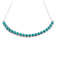 Dynasty Necklace in Turquoise