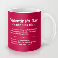 Valentine's Day Definition  Mug by LookHUMAN