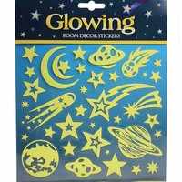Glitter & Glow Wall Decals - Planets