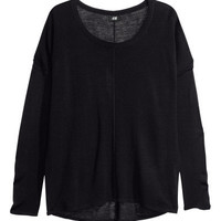 Fine-knit Oversized Sweater  - from H&M