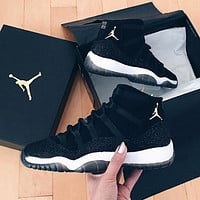 Nike Air Jordan 11 AJ11 fashion men's and women's casual sports high-top shoes basketball shoes 1