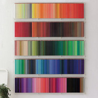 The 500 Coloured Pencils by Felissimo