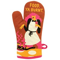 Food, Ya Burnt Oven Mitt