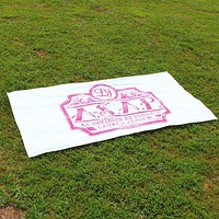 As Southern As Possible Beach Towel by Lauren James