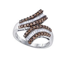 Diamond Fashion Ring in Sterling Silver 0.72 ctw
