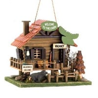 Welcome To The Cabin Birdhouse