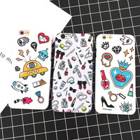 Cute Iphone 6/6s Hot Deal On Sale Stylish Iphone Korean Innovative Summer Cartoons Apple Phone Case [8153016263]