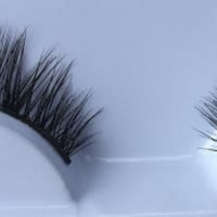hand made real mink eyelash,  false eyelash, natural mink eyelash