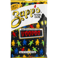 Zapp's New Orleans Kettle Style Voodoo Potato Chips 9.5 oz. Party Size Bag (4 Bags) - Walmart.com