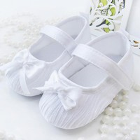 Bow Bowknot Baby Girls Shoes