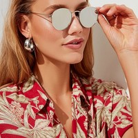 Harper Metal Round Sunglasses | Urban Outfitters