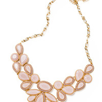 Cassidy Light Pink Statement Necklace