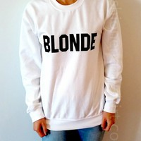 Blonde - Unisex Sweatshirt for Women - shpfy