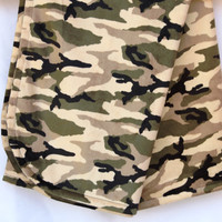 Camo Baby Blanket, Double Sided Camouflauge Soft and Comfy Baby Blanket,  Bed Time, Nap Time, Play Time, Cuddle Time