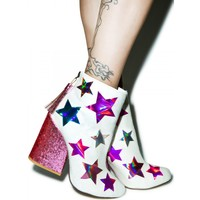 GEM STAR ANKLE BOOTS