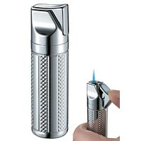 Visol Tornado Polished Chrome Single Jet Flame Cigar Lighter
