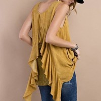 Revolution Ruffle Back Tunic